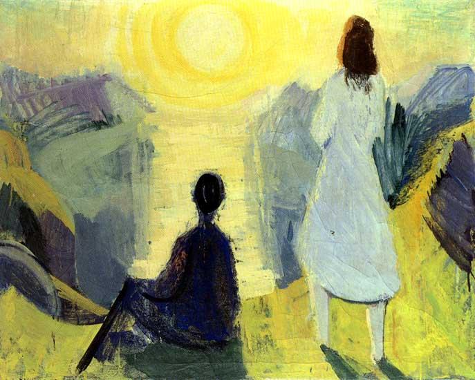 Malarstwo Joensen'a Mikines