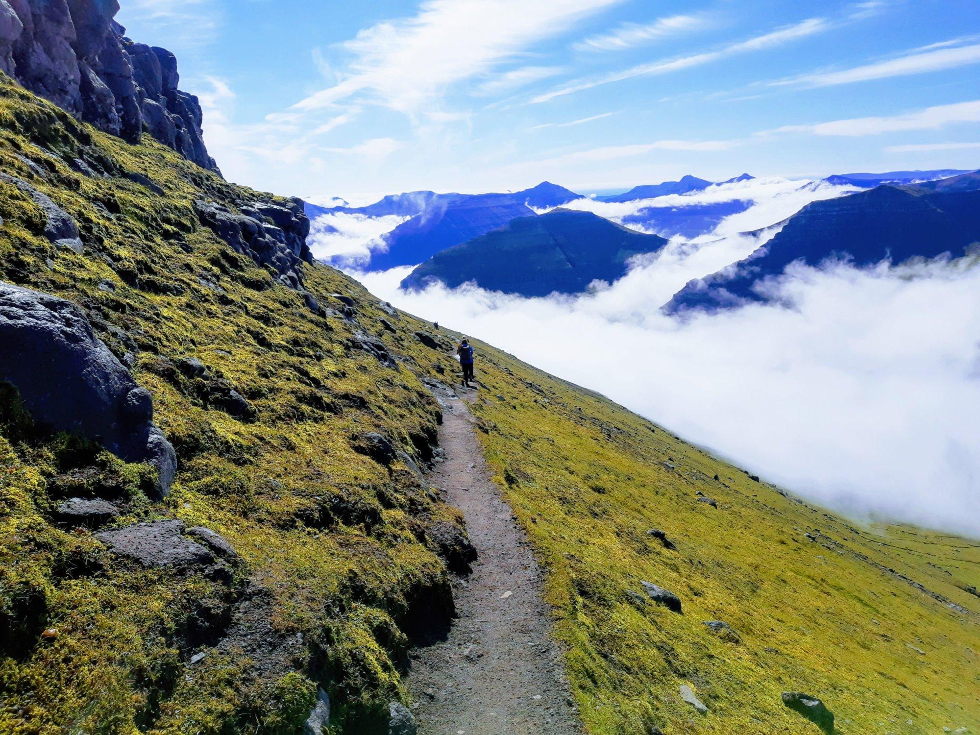 Szlak na najwyższą górę Wysp Owczych