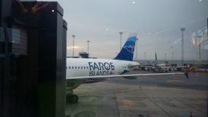Samolot Atlantic Airways na lotnisku w Kopenhadze