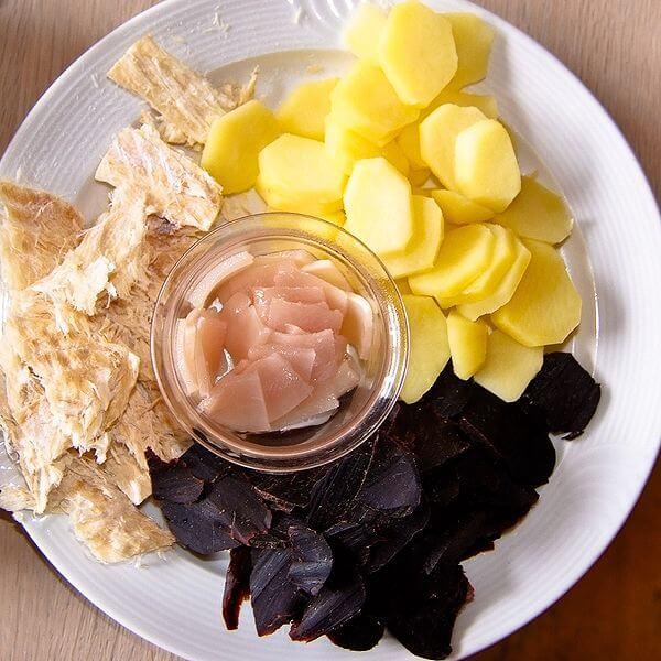Kuchnia Wysp Owczych - Pieczony Maskonur