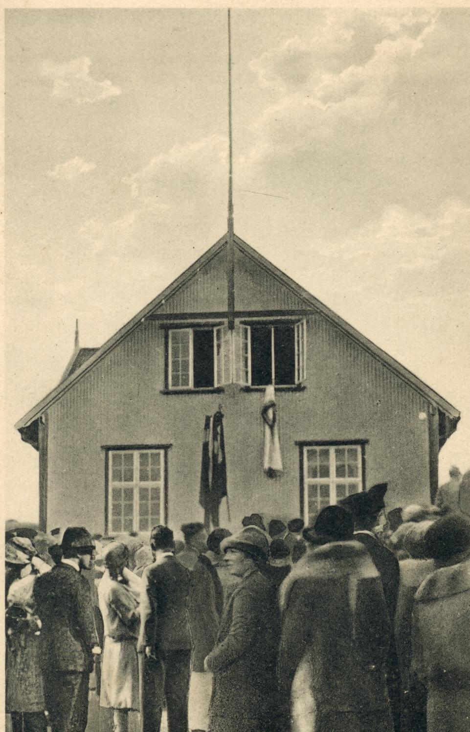 Budynek Løgtingu - lata 20-te XXw.