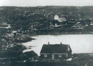 Budynek Løgtingu - lata 50-te XIXw.