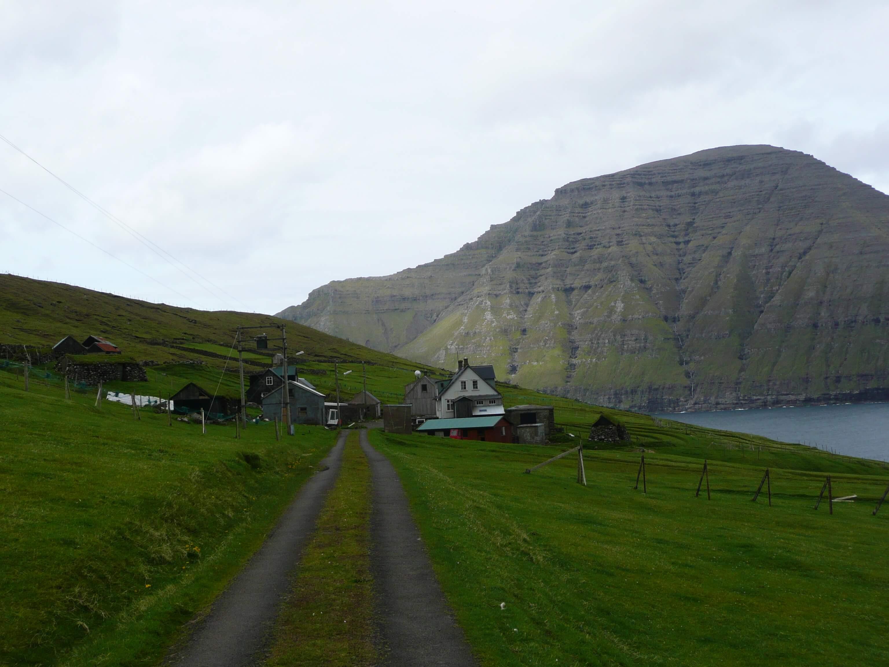 Opuszczona miejscowość Muli na Wyspach Owczych