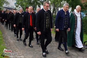 Delegacja rządowa - Ólavsøka