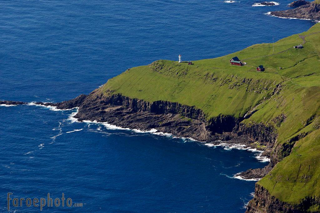 Przylądek Akraberg na wyspie Suðuroy