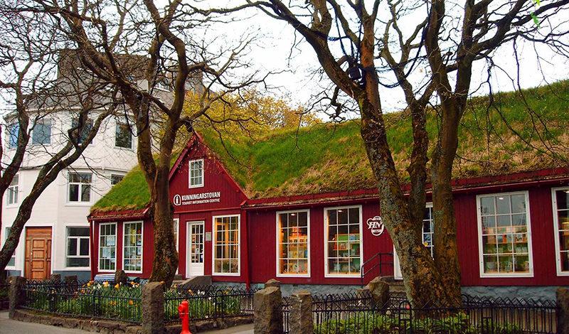 Najstarsza księgarnia na Wyspach Owczyc - H.N. Jacobsens Bókahandil