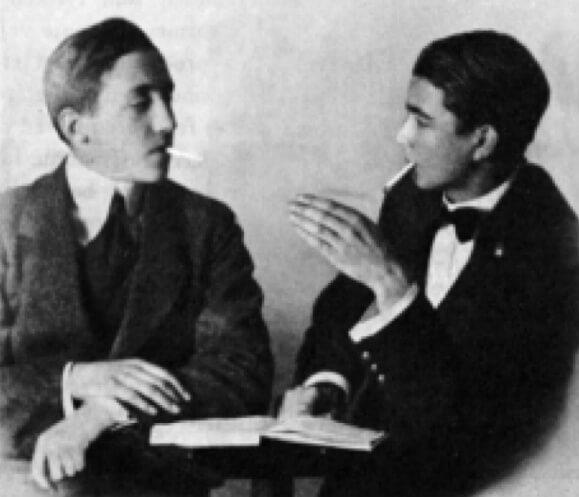 Pisarze Wysp Owczych - William Heinesen i Jørgen-Frantz Jacobsen