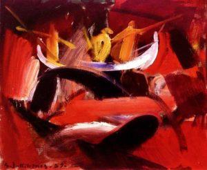 Malarstwo Samuel Joensen Mikines