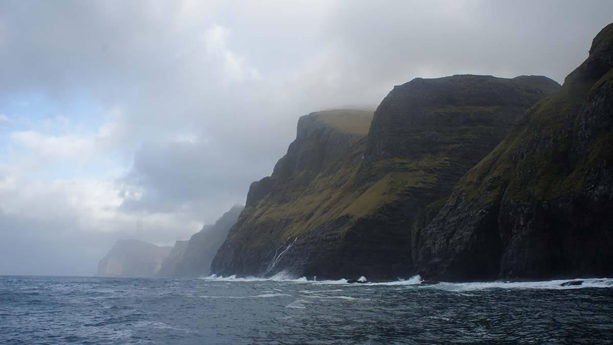 Najwyższe klify w Europie - Klify Vestmanna na Wyspach Owczych