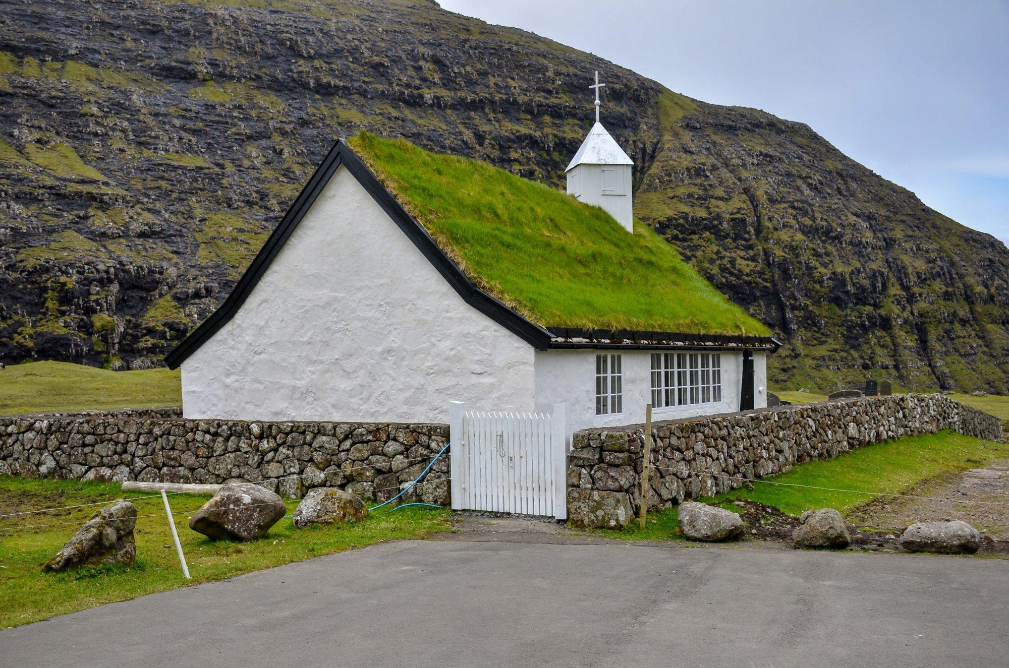 Kościół w Saksun Wyspy Owcze