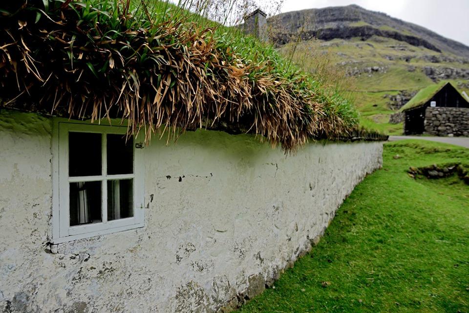 Budynek muzeum w Saksun, Wyspy Owcze