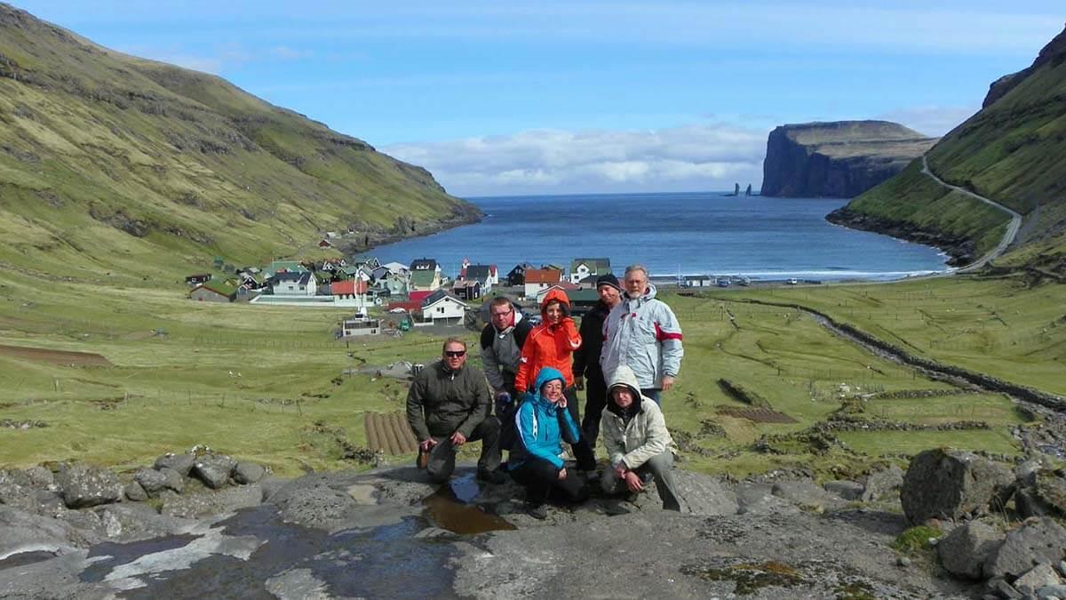 Tjørnuvík. Wyspy Owcze
