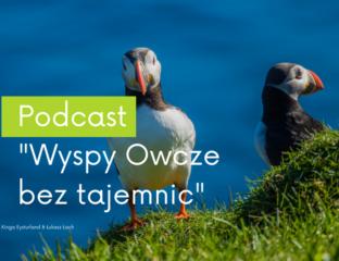 Okładka pierwszego odcinka podcastu Wyspy Owcze bez tajemnic